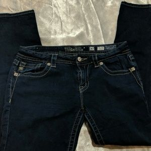 Miss me dark wash 30 midrise skinny jeans